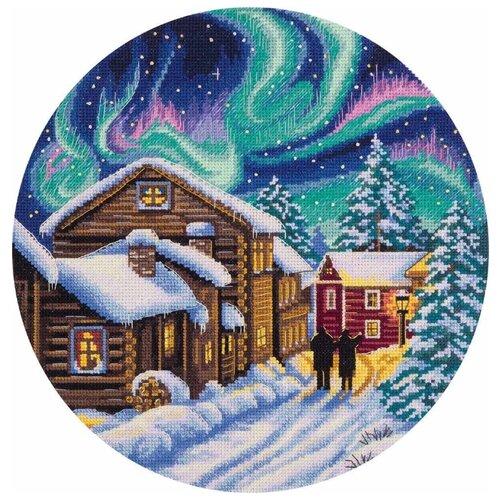 Купить PANNA Набор для вышивания Северная зима 24 х 24 см (PS-1977), Наборы для вышивания