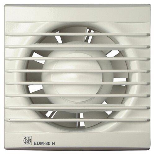Вытяжной вентилятор Soler & Palau EDM-80 N, белый 9 Вт palau toys доктор 9 9 элементов