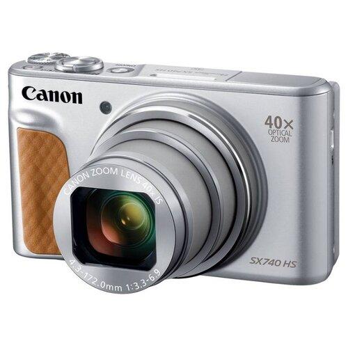 Фото - Фотоаппарат Canon PowerShot SX740 HS серебристый фотоаппарат canon powershot sx70 hs черный