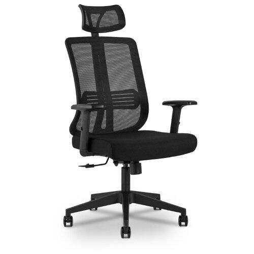 Компьютерное кресло STOOL GROUP TopChairs Post для руководителя, обивка: текстиль, цвет: черный