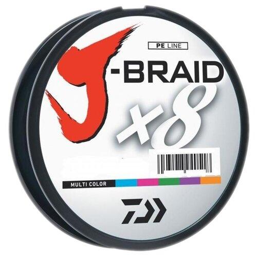 Плетеный шнур DAIWA J-Braid X8 мультиколор 0.2 мм 150 м 13 кг