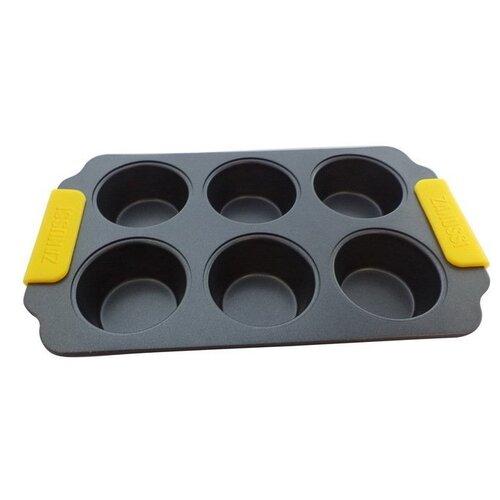 Форма для кексов Zanussi Amalfi ZAC34413CF, 31х18х3.3 см форма для запекания zanussi amalfi zac11413cf