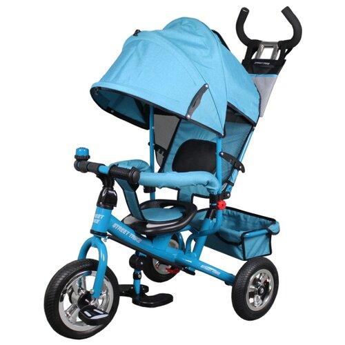 Купить Трехколесный велосипед Street trike A22-1, бирюзовый, Трехколесные велосипеды