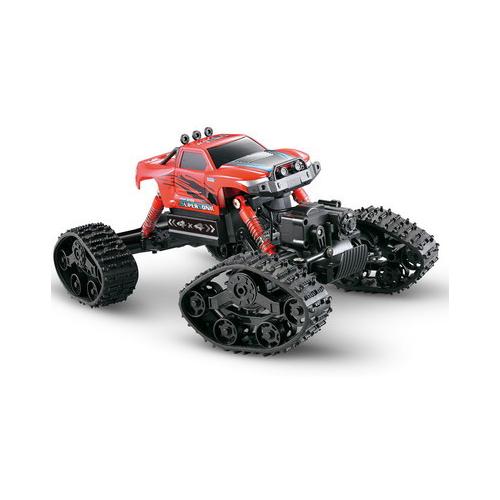 Купить Вездеход Junfa toys Скалолаз (8897-191E) 1:16 красный, Радиоуправляемые игрушки