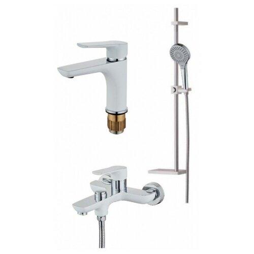 Комплект смесителей в ванную комнату (3 в 1) HANSEN H90037-F