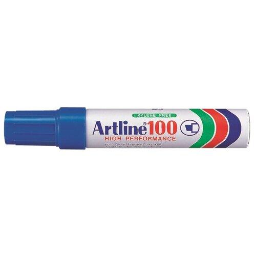 Купить Гигантский перманентный маркер с широким клиновидным наконечником Artline EK100, 7, 5-12, 0 мм, синий, Маркеры