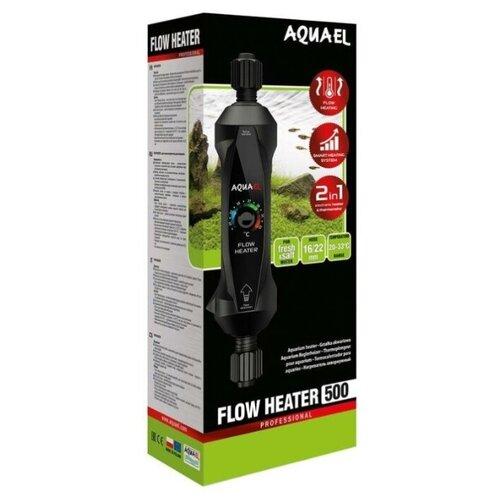 Фото - Нагреватель AQUAEL FLOW HEATER 500 Вт для аквариума 300 - 1000 л, проточный (пластиковый, регулируемый) помпа aquael circulator 1000 1000 л ч для аквариумов объемом до 250 л 1 шт