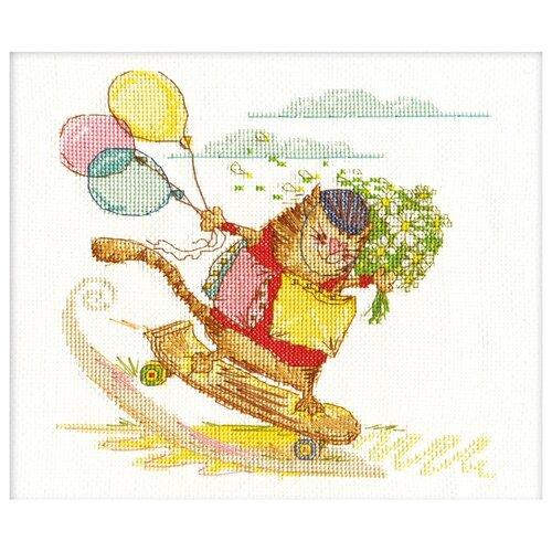 Купить PANNA Набор для вышивания Спешу к тебе 21 x 20 см (VK-1033), Наборы для вышивания