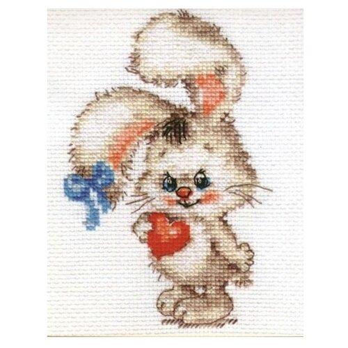 Купить 0-78 Набор для вышивания АЛИСА 'Моей зайке' 9*12см, Алиса, Наборы для вышивания
