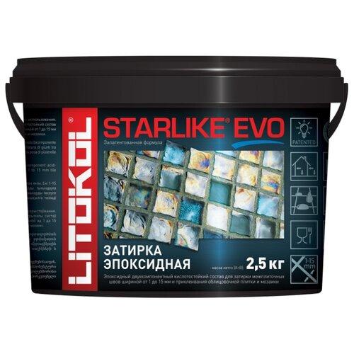 Эпоксидная затирочная смесь LITOKOL STARLIKE EVO S.320 Azzurro Caraibi, 2,5 кг