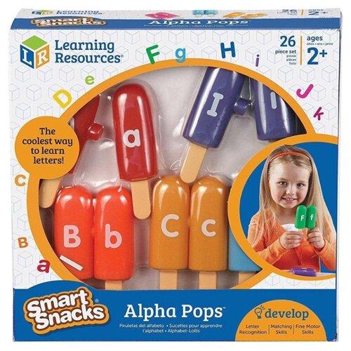 Купить Набор букв Learning Resources Алфавитное эскимо LER7345 разноцветный, Обучающие материалы и авторские методики