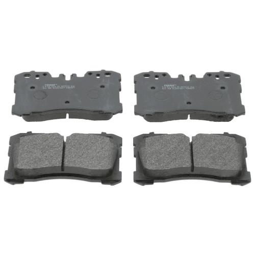 Фото - Дисковые тормозные колодки передние Ferodo FDB4277 для Lexus LS (4 шт.) дисковые тормозные колодки передние ferodo fdb1891 для toyota lexus subaru 4 шт