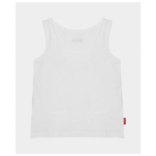 Купить Майка Gulliver размер 110-116, белый, Белье и пляжная мода