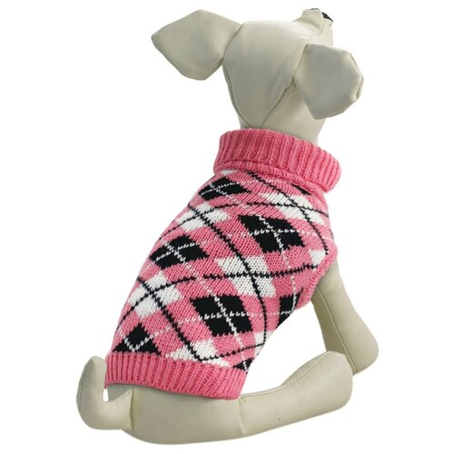 Фото - Свитер для собак Triol 12271409/415 XXL розовый triol triol xxl подгузник для собак весом от 30 кг 10 шт