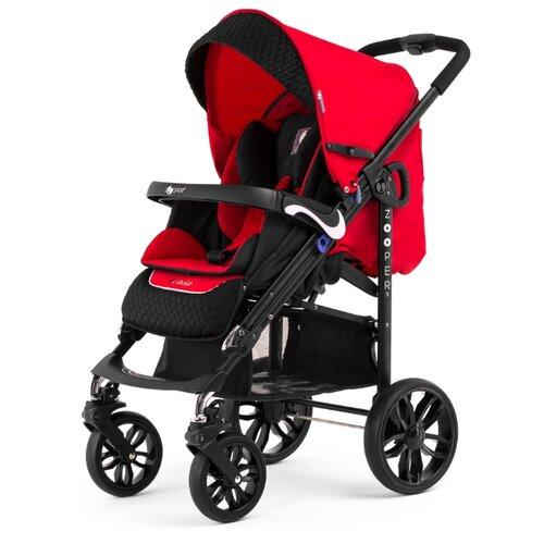 Купить Прогулочная коляска Zooper Z9 Lux Plus red, цвет шасси: черный, Коляски