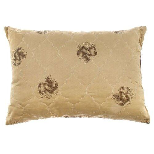 Подушка Адамас Сонечка, Верблюжья шерсть, 50*70 см, чехол полиэстер, сумка