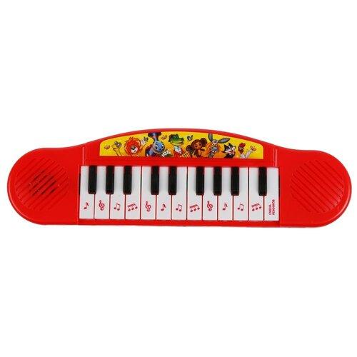 Купить Умка пианино B1371790-R14 красный, Детские музыкальные инструменты