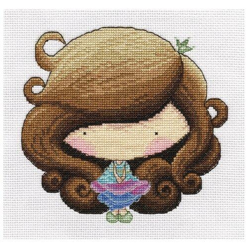 Купить Klart Набор для вышивания А я на бал 19 x 19 см (8-203), Наборы для вышивания