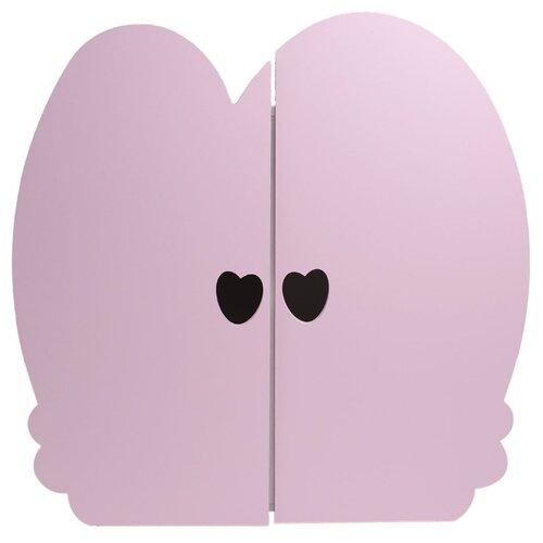 Кукольный шкаф Paremo Мини, цвет: нежно-розовый (PFD120-25M)