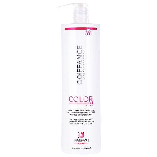 Coiffance Color Intense Protect Shampoo - Шампунь для глубокой защиты цвета (без сульфатов) 1000 мл недорого