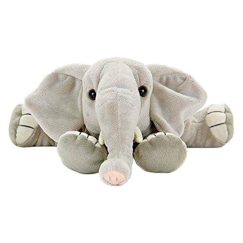 Мягкая игрушка Leosco Слоненок лежащий 23 см