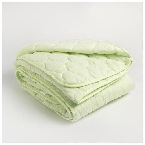 Одеяло Столица текстиля Бамбук, 2-спальное, файбер, 150 г/м2, микрофибра, полиэстер 100%