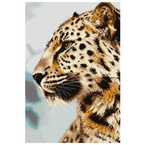Купить Luca-S Набор для вышивания Леопард 21.5 x 31.5 см (BU4006), Наборы для вышивания