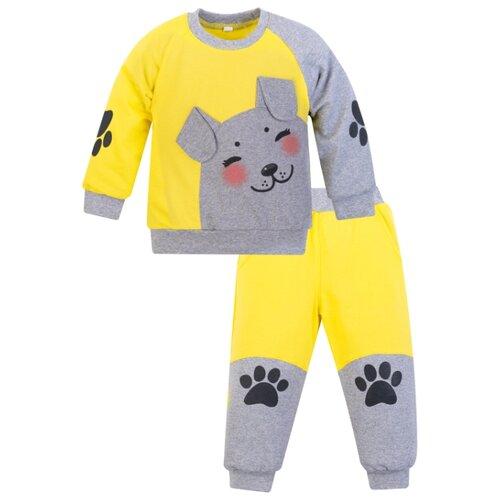 Купить Комплект одежды Утенок размер 98, лимон/меланж, Комплекты и форма