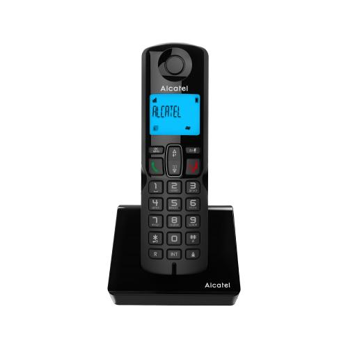 Радиотелефон Alcatel S230 черный