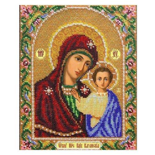 Купить Паутинка Набор для вышивания бисером Пресвятая Богородица Казанская 20 х 25 см (Б1012), Наборы для вышивания