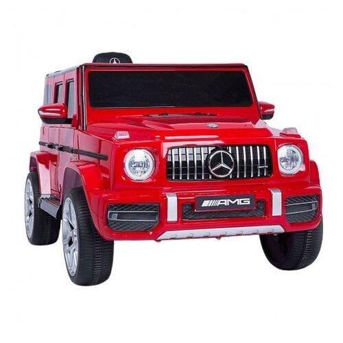Купить RiverToys Автомобиль Mercedes-Benz G63 T999TT, Cherry-Glanec, Электромобили