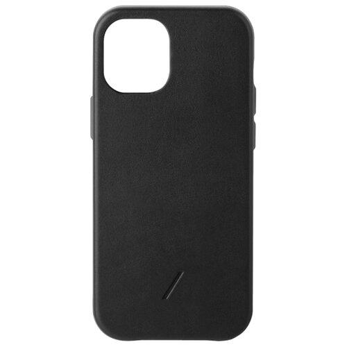 Чехол-накладка Native Union CLIC CLASSIC для Apple iPhone 12 mini черный чехол накладка native union clic classic для apple iphone 12 pro max мятный