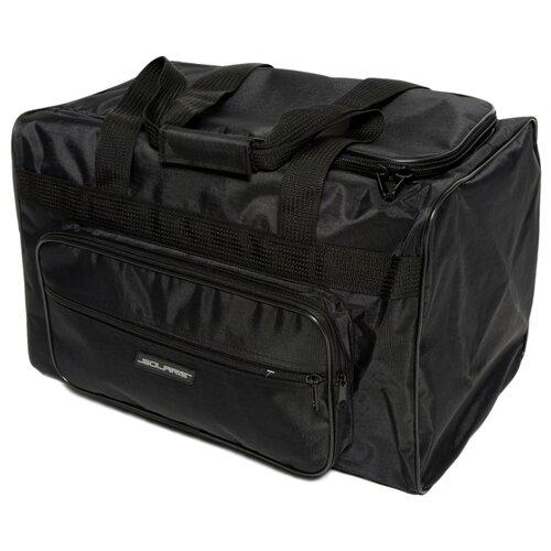SOLARIS S5123 Сумка багажная с боковым карманом 54 л, Чёрная