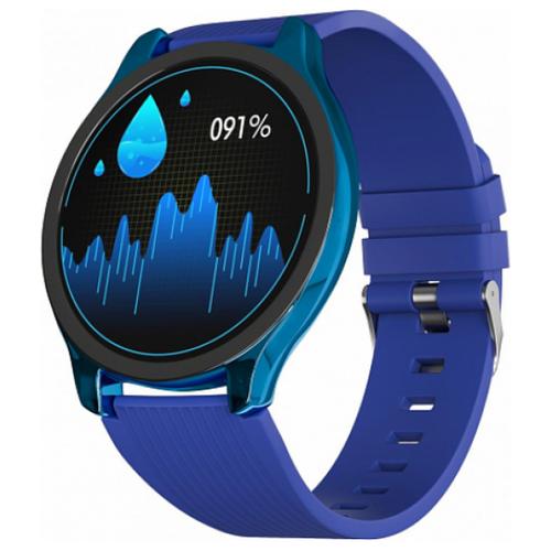 Умные часы GSMIN WP7 (silicone), синий
