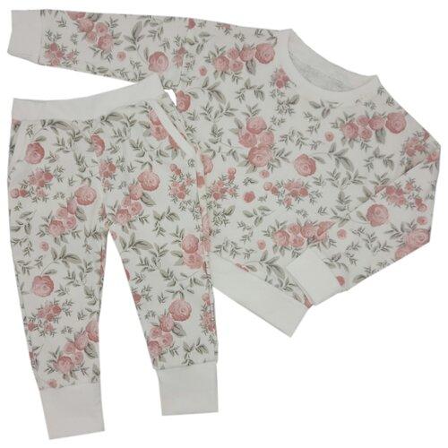Купить Комплект одежды MilleFaMille размер 92, 98-52, экрю, Комплекты