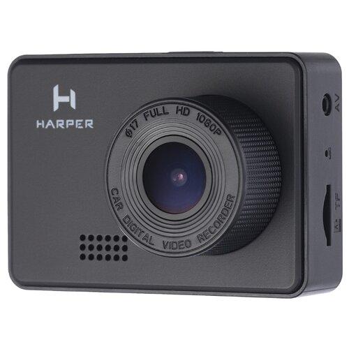 Видеорегистратор HARPER DVHR-470, без камеры, черный