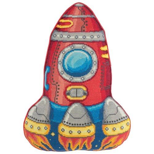 Купить PANNA Набор для вышивания Подушка Ракета 31 x 43 см (PD-7013), Наборы для вышивания