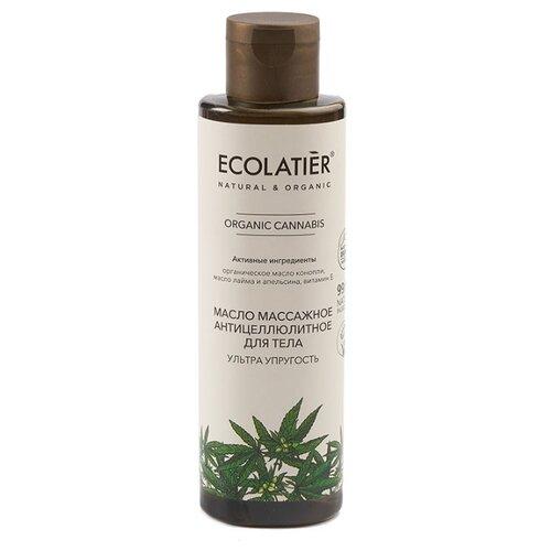 Купить Ecolatier GREEN Масло массажное антицеллюлитное для тела Ультра упругость Серия ORGANIC CANNABIS, 200 мл, ECO Laboratorie