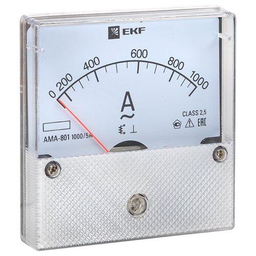 Амперметр для установки в щит EKF AMA-801-1000