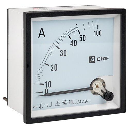 Амперметр для установки в щит EKF AMA-961-50
