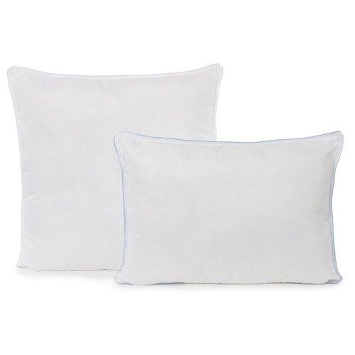 Подушка Адель Лебяжий пух, 70*70 см, полиэфирное волокно, микрофибра, полиэстер 100%