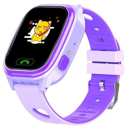 Часы детские Smart Baby Watch Y-85 фиолетовые часы детские smart baby watch y 85 синие