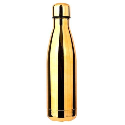 Бутылка термос из нержавеющей стали для горячего и холодного, металлическая бутылка для воды, 500 мл., Blonder Home BH-MWB-16