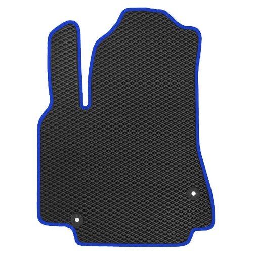 Автомобильный коврик EVA Kia Sportage III 2010-2015 (темно-синий кант) ViceCar