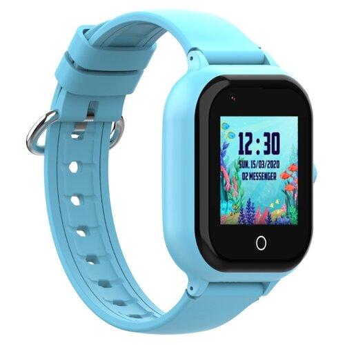 Часы с видеозвонком Smart Baby Watch Wonlex KT24 (голубой) часы smart baby watch q80 голубой