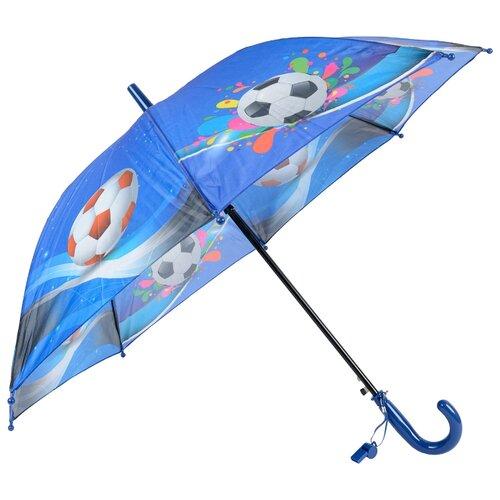 Зонт-трость полуавтомат детский Rain Lucky 915-2 LACN со свистком