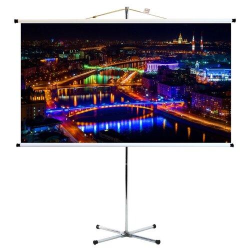 Экран на штативе про-экран 200 на 112 см (16:9), 90 дюймов