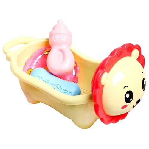 Крошка Я / Развивающая игрушка / Игрушка для ванной / Набор игрушек для купания, 5 шт + леечка крошка я игрушка комфортер для новорождённых игрушка для детей первый подарок пинетки