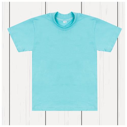 Купить Футболка Утенок, размер 86, голубой, Футболки и рубашки