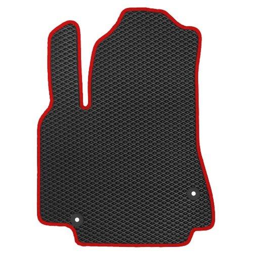 Автомобильный коврик EVA Chery Tiggo (T11) FL 2012-н.в. ViceCar (красный кант)
